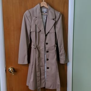 H&M pleated trench coat